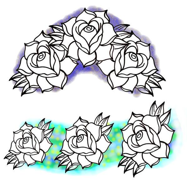 new school roses by BMXNINJA on DeviantArt