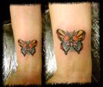 butterfly lotus wings