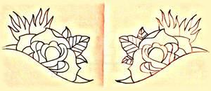 neck roses