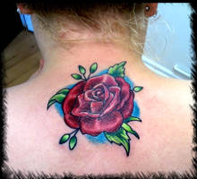 rose neck cover up by BMXNINJA