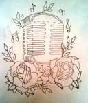 m.i.c n roses rough draft line