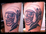 ww2 skull in progress
