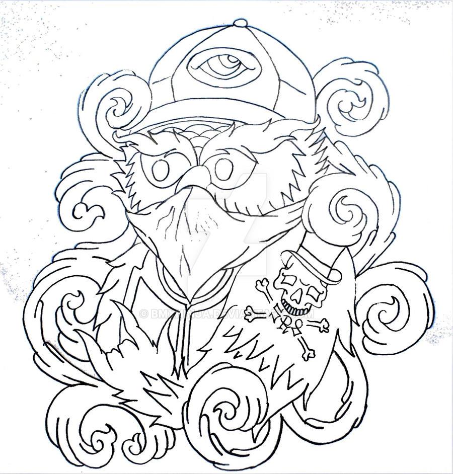 Owl In The Hood T Shirt Design By BMXNINJA On DeviantArt