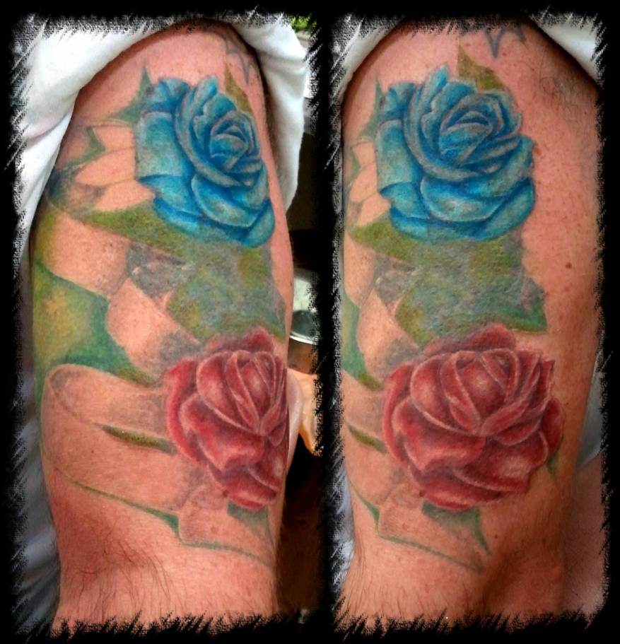 8e0f96386981f roses n banner cover up by BMXNINJA on DeviantArt