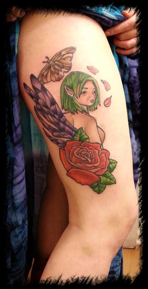 fairy n rose by BMXNINJA