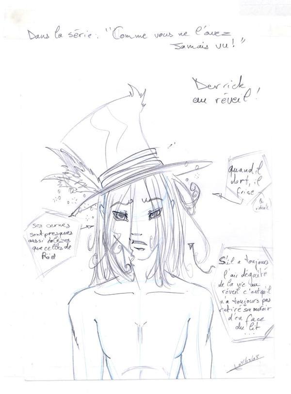 Derrick au reveil by Kaia45