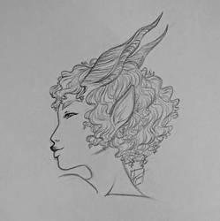 Faune portrait by Kaia45
