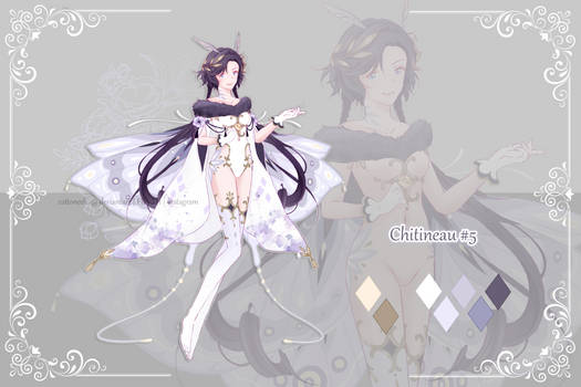 [Closed] Chitineau #5 (+ alternate/naked version)