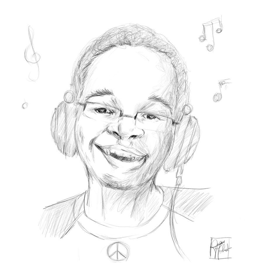 Autoportrait Full Sketch1 by JnMohab