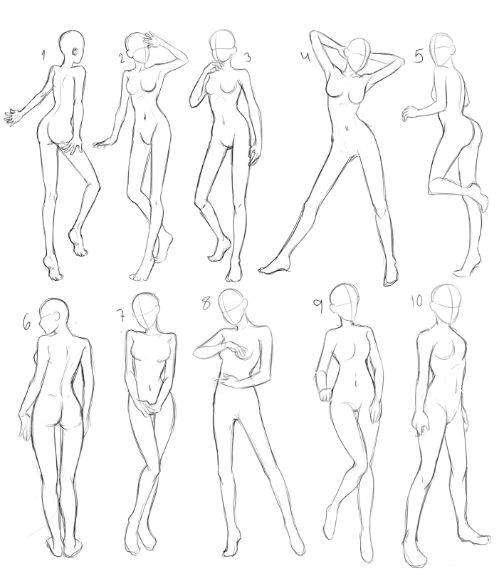 Pose Practice by MadameNyx