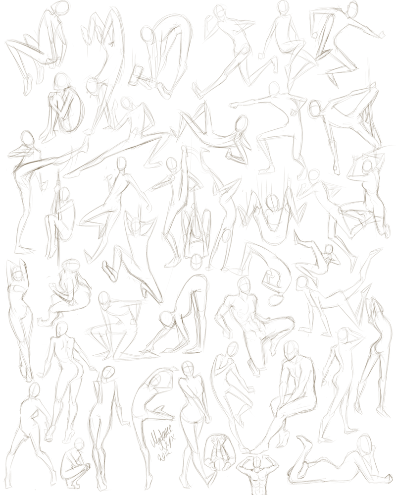 42 More Poses by MadameNyx
