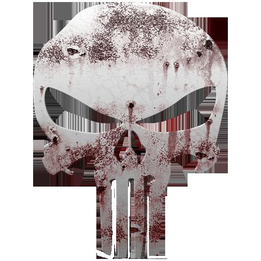 The Punisher Logo Icon
