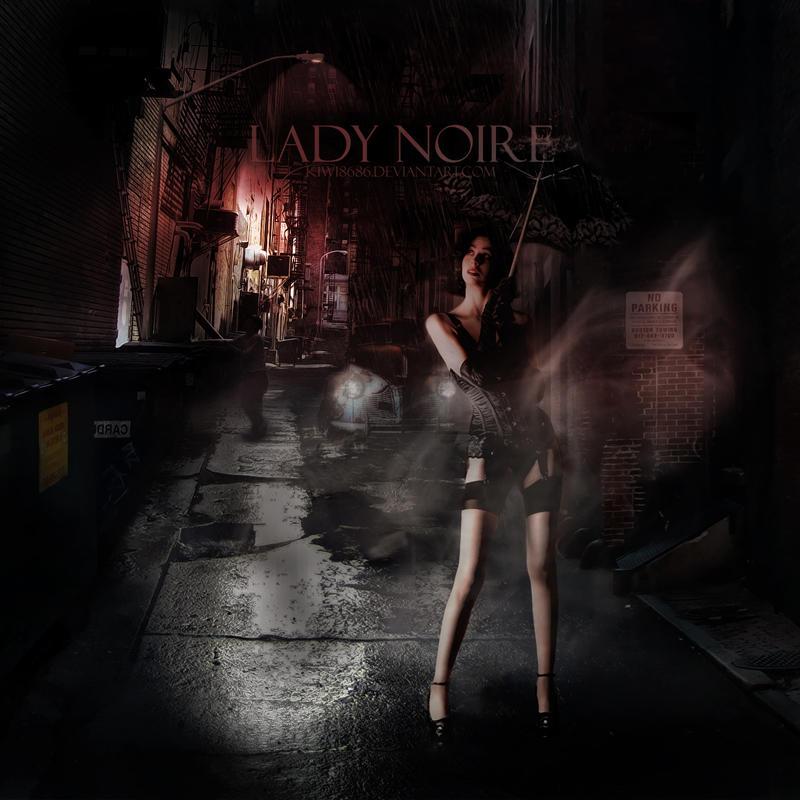 Lady Noire by kiwi8686
