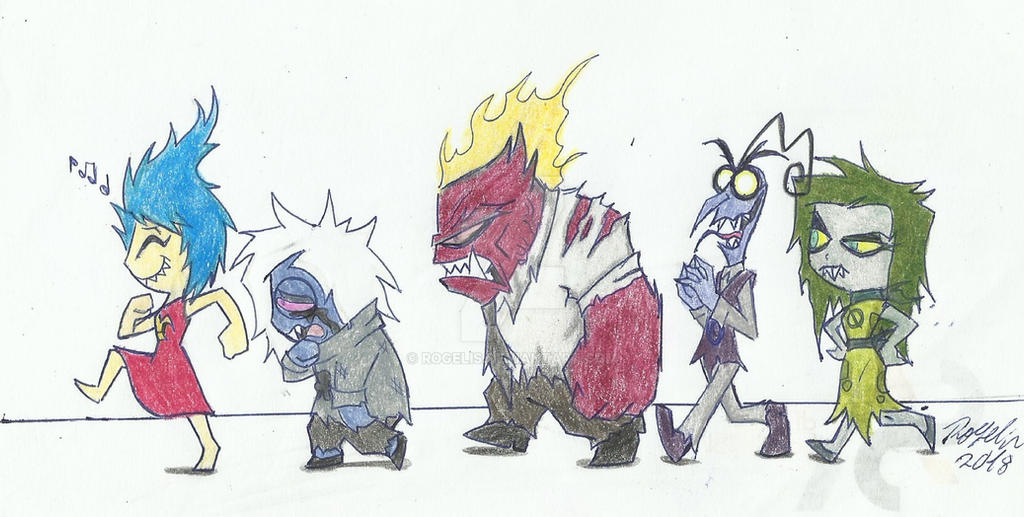 Satire And His Devil Gang By Rogelis On Deviantart