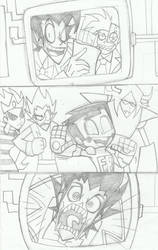 Crossover comic 2:page 20 tre Ovjetive by rogelis