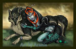 Link and Midna - Spoiler