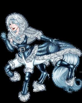 Satine the Centaur: Winter Wear