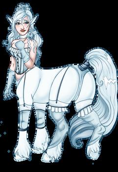 Satine the Centaur: Lingerie