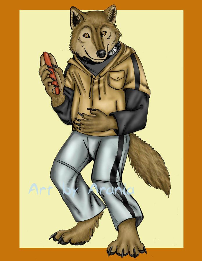 Wolf Anthro Boy Wolf 39 s Rain Anthro Hige by