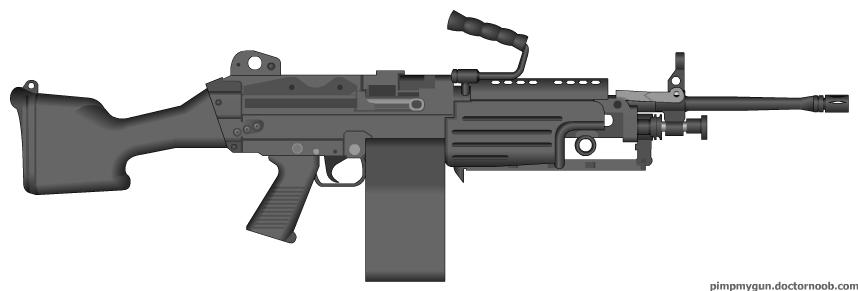 M-249 SAW by jon646an2