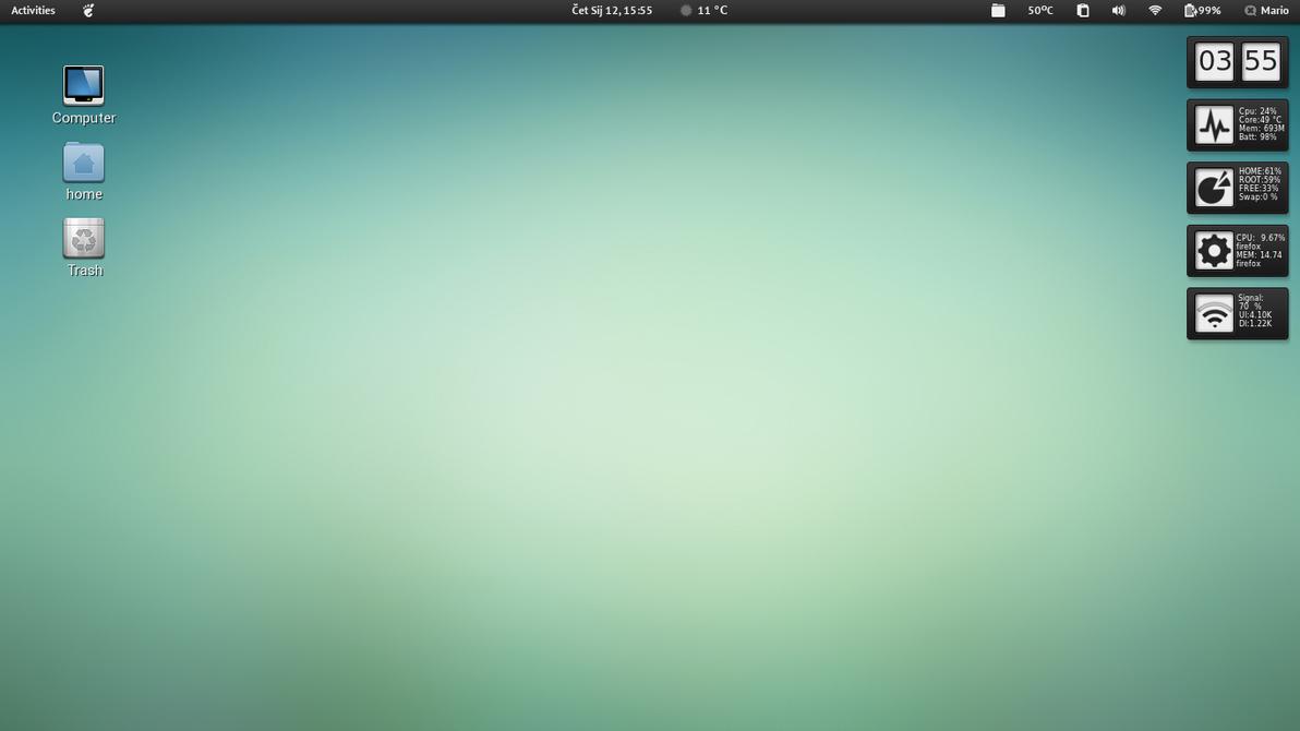 Fedora 16 by tmari0