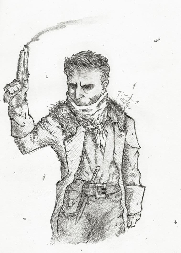 Darkest Dungeon Sketch by FrostyTK