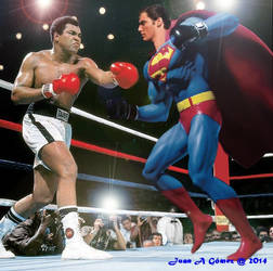 Superman Vs Muhammad Ali : Fight of the centuty by totoletoto
