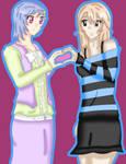AT - Hakari and Nozomi