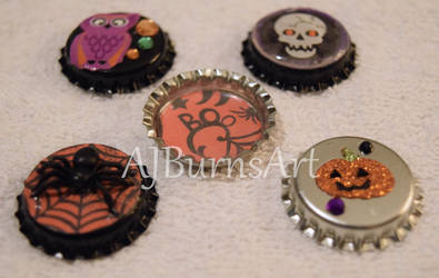 Adorable Cute Halloween Magnets for October