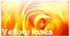 Yellow Roses Stamp by JessiRenee