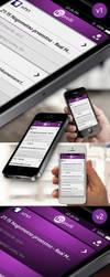 TvProfil - mobile app design by DraevalAWSA