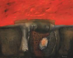 Source oil on canvas / Kostadin Tancev - Dinka