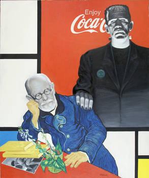 Super-ego Mondrian / Atanas Botev