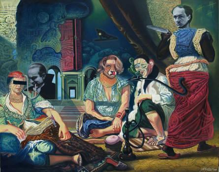 The bad trip of Delacroix / Atanas Botev