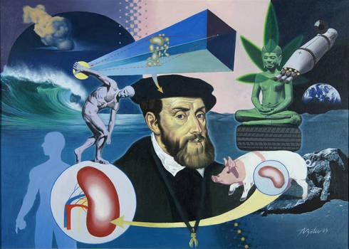 Karlo V according to Titian / Atanas Botev