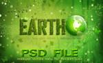 EARTH  PHOTOSHOP FILE