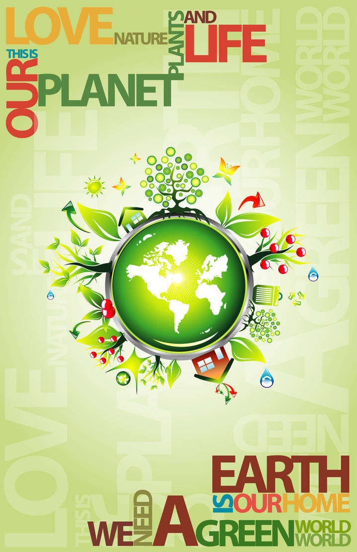 WE NEED A GREEN WORLD