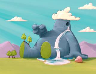 Berg the Stone Giant by Swiilu