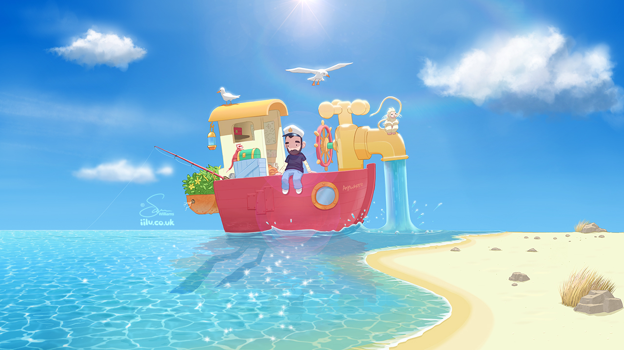 The Go Anywhere Boat by Swiilu