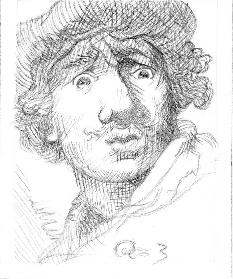 rembrandt coloring pages - photo#20