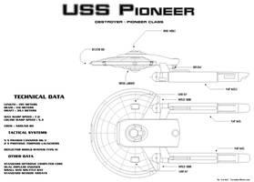 USS Pioneer, Pioneer class by Zardoz84