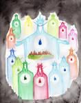 Ainulindale Illustration Cover
