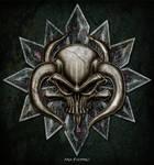 Skull Bull Head Design