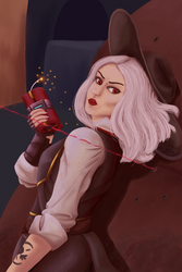 Ashe Painting