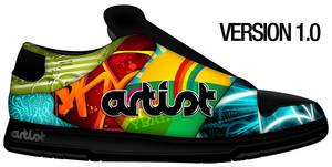 Artist Custom Shoe VERSION 1.0
