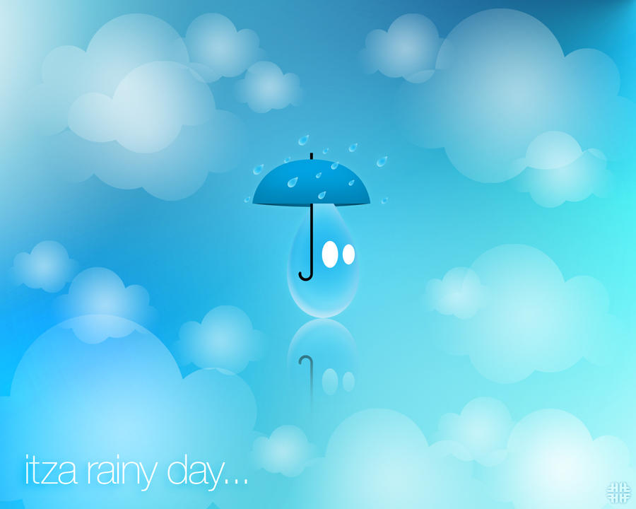 Itza Rainy Day Wallpaper