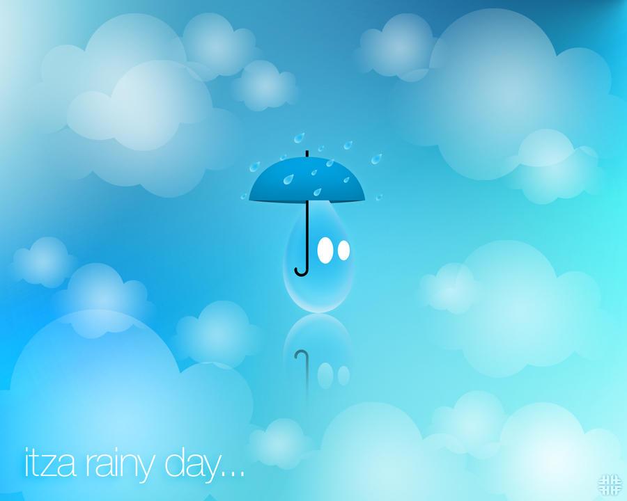 Itza Rainy Day Wallpaper