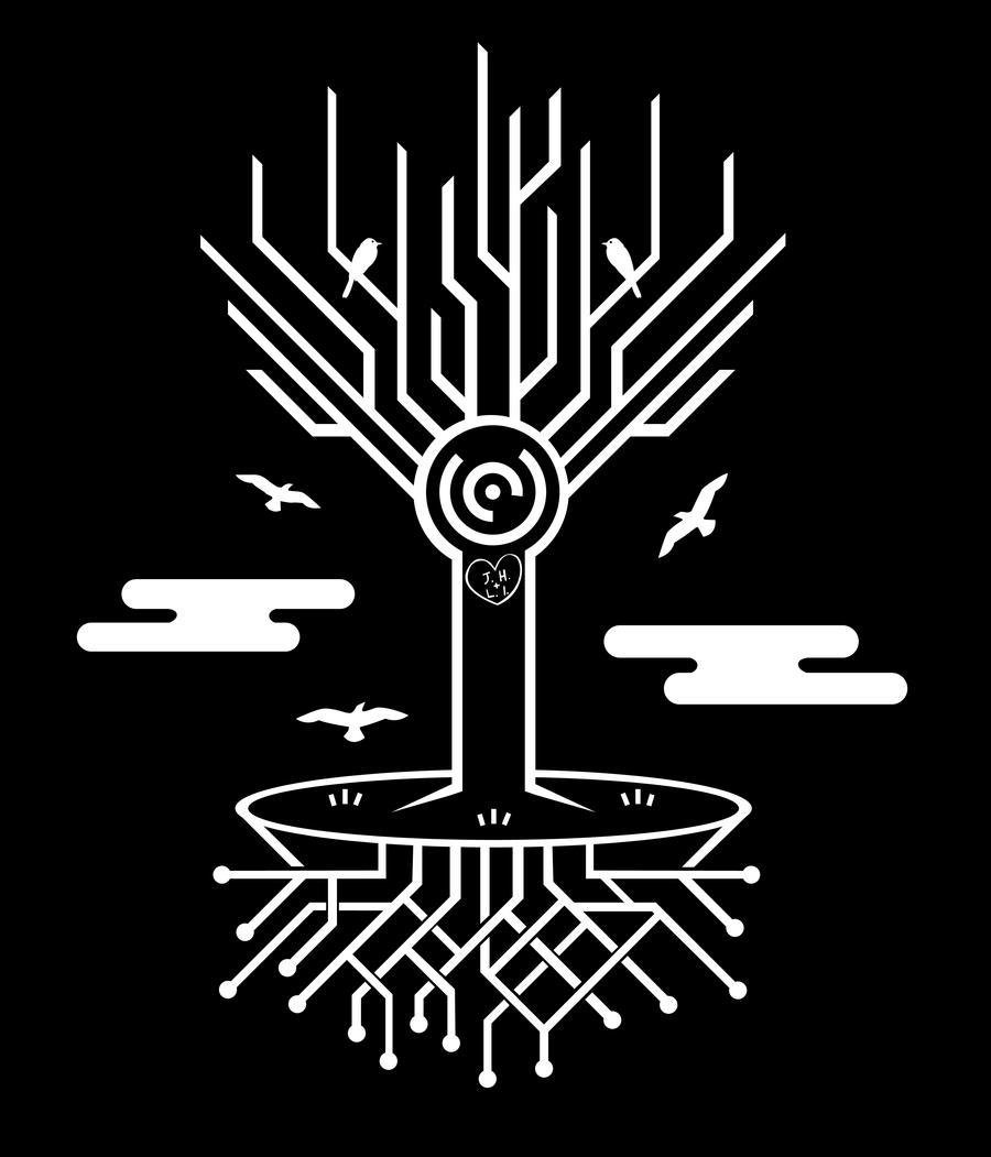 Techno Tree. By Jhasson On DeviantArt