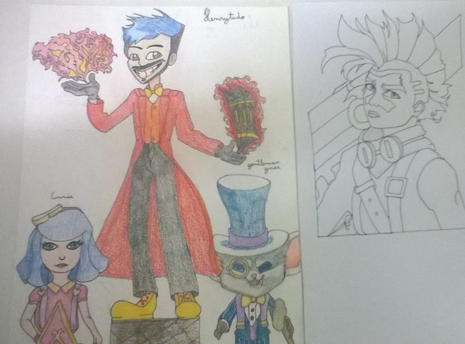 Henrytado, Annie, gnar Gentleman e Ekko by nina12315