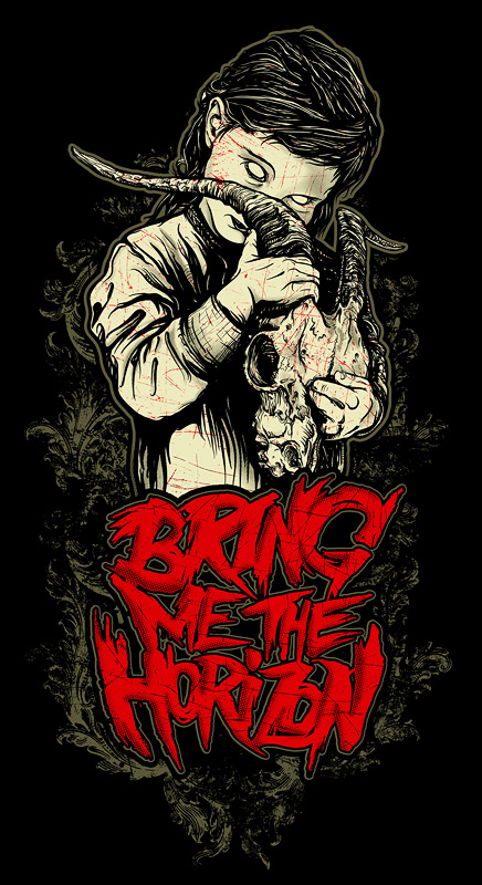 Bring Me the Horizon  Goat Gir by angryblueBring Me The Horizon Artwork